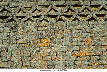 herringbone-pattern-in-stones-at-top-of-great-enclosure-wall-great-a5wgm4